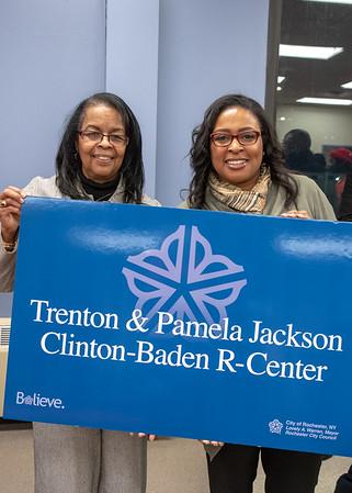 Trenton & Pamela Jackson Clinton-Baden R-Center Ceremony