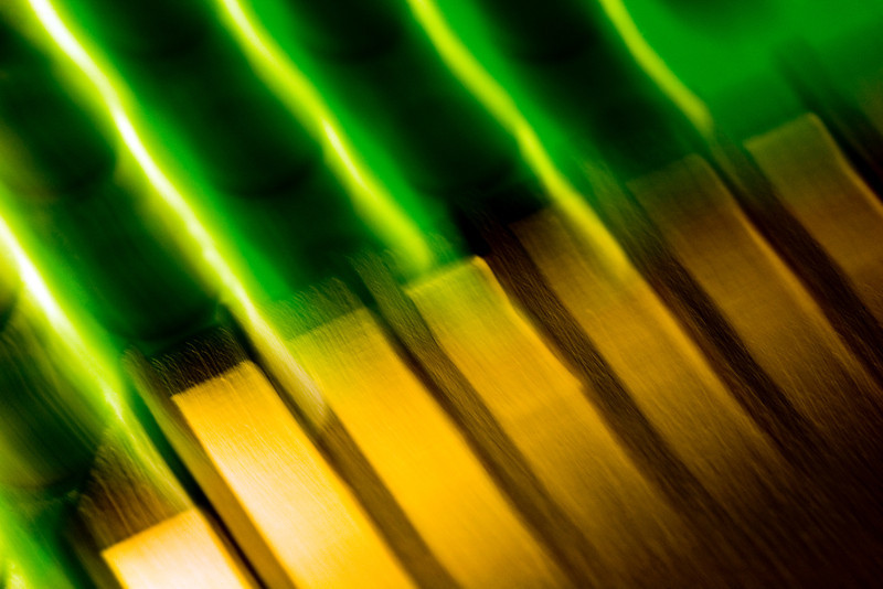 Electronic contacts, abstract image taken with a high magnification macro lens.