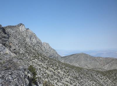 Pleasant Peak, Inyos, and Onion Valley, Sierras