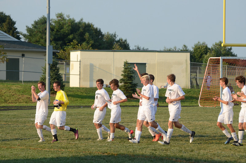 Varsity Boys Soccer September 7 vs Franklin
