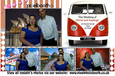 23rd Oct 2020: Daniel and Kayleigh's Wedding