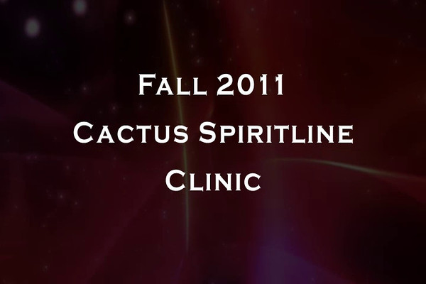 2011 Cactus Fall Spiritline Clinic Videos