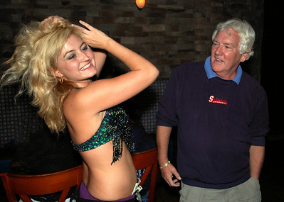 Bellydancing at Ouzo Blue