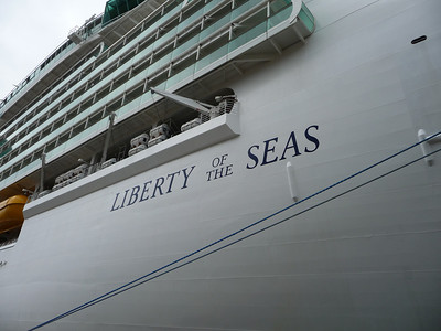 LIBERTY of the Seas Oct 3, 2010
