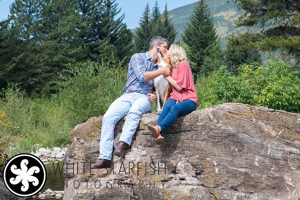Vail Engagement Photos - East Vail - Kim and Bradon