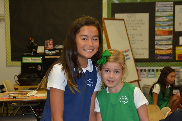 Meeting 6th Grade Buddies