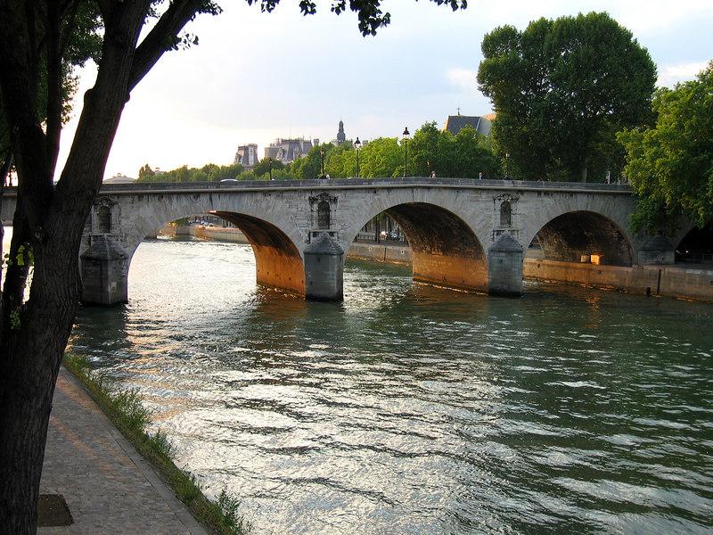 Bridge off the Isle St. Louis, Paris