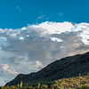 Clouds over Santa Catalina Mountains
