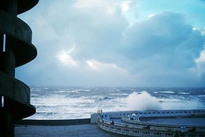 Blackpool storms 1978
