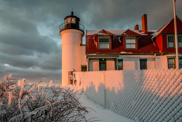 Point Betsie Light