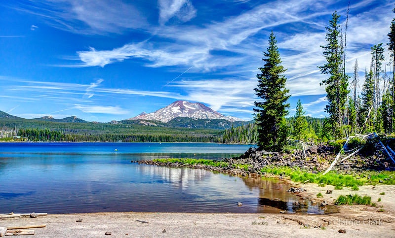 Elk Lake, Oregon