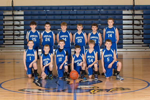 5th Grade Eagle AAU Basketball - 2014