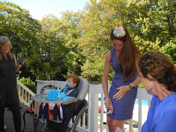 Killian's First Birthday Party  10/1/17