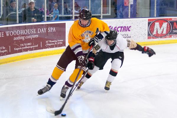 Hatfield Ice Hawks at Wilkes-Barre Junior Pens 1-24-2015