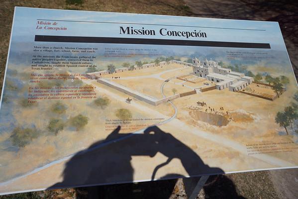San Antonio Missions Tour 2-12-2013