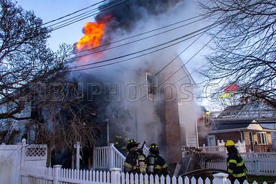 Bellmore F.D. House Fire 128 Linden Street 1-9-20