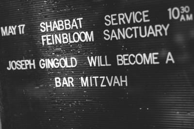 Joseph's Bar Mitzvah
