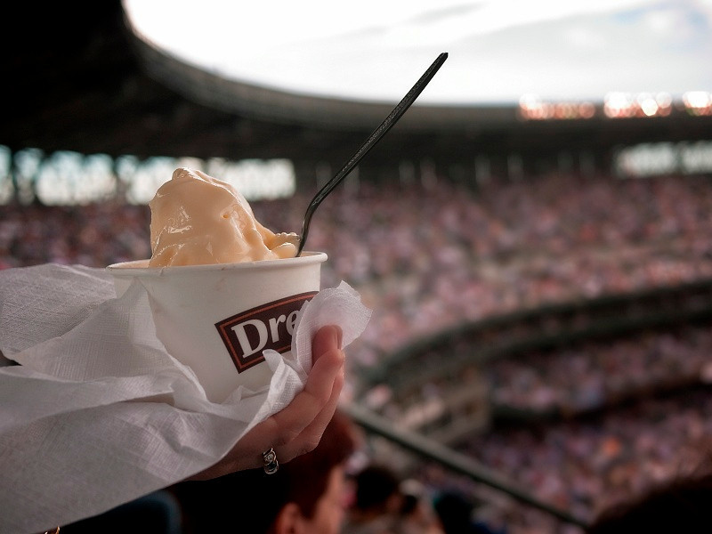 24 June 2010: Ice cream and baseball