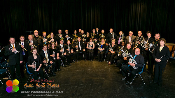 The Brass Band of Central Illinois Spring concert 2014