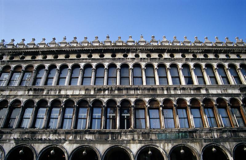 Procuratie Vecchie, Piazza San Marco, Venice, Italy