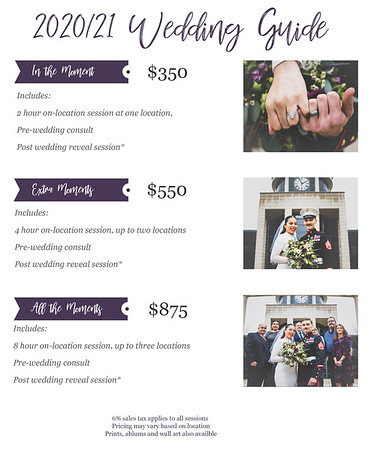 Wedding Price Guide