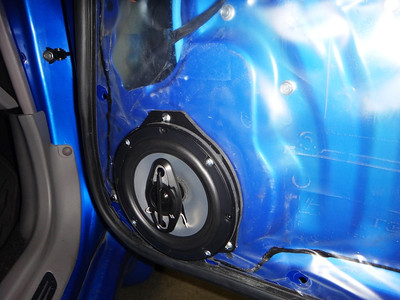 2007 Subaru Forester XT Sports Front Door Speaker Installation - USA
