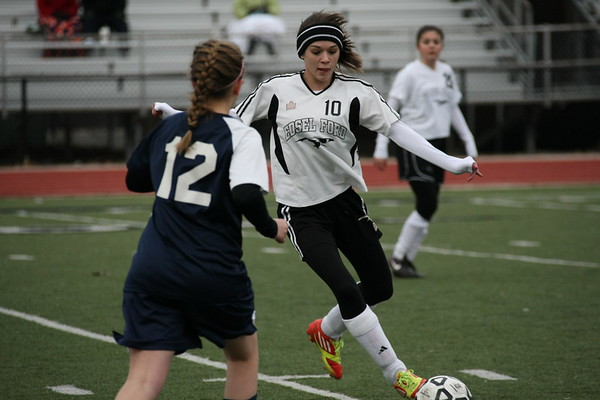 Edsel Girls JV soccer vs Trenton