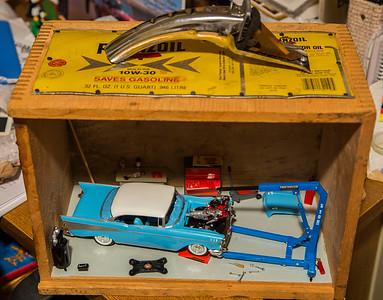 57 Chevy Shadow Box