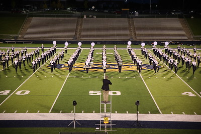 Saline Marching Band Oct 1 2020