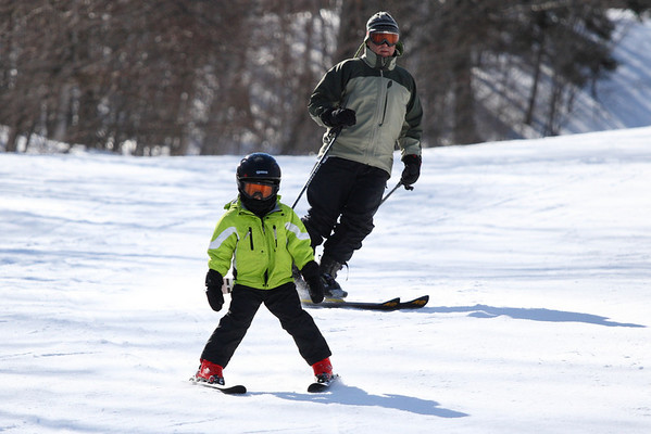 Teddy and Tyler at Sugarloaf 2008