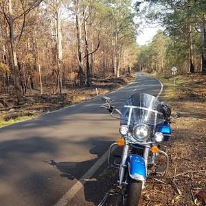 Jak's solo ride to Port Macquarie 191230