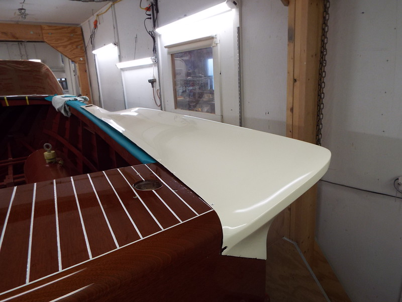 Another rear view of the starboard fin in place.