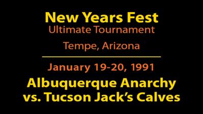 1991 NYF - ABQ vs. Tucson