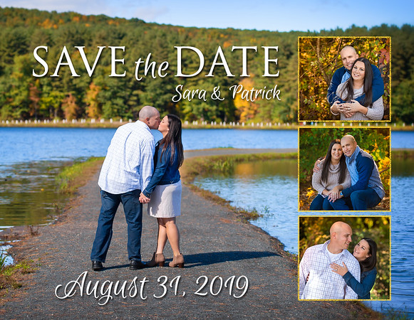 Save the Dates Sara and Patrick