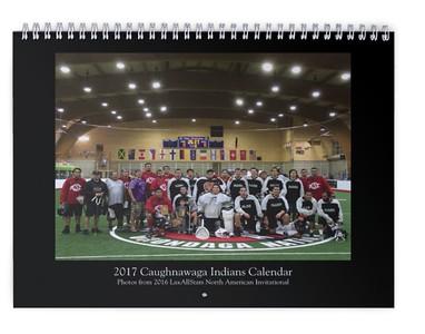 2017 Caughnawaga Indians Calendar (photos from LASNAI2016)