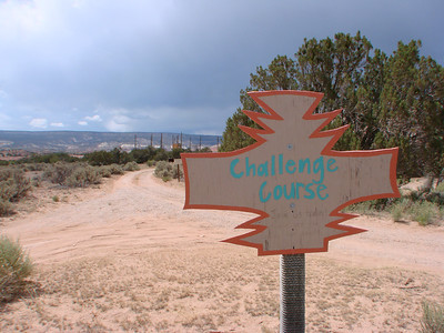 Ghost Ranch Challenge Course 2012-07