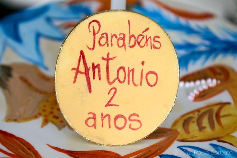 Aniversário Antônio Almeida - 2 anos - Julho 2021