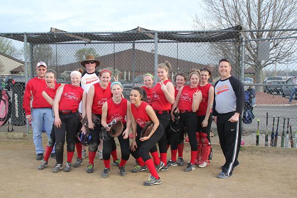 DCS Softball  April 26, 2013