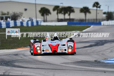 2012-03-17 FIA WEC ALMS 60th Annual 12 Hours of Sebring Turn 13 to Turn 14 Flying Fortress Straight