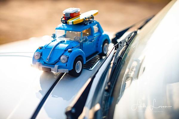 Lego VW Beetle car
