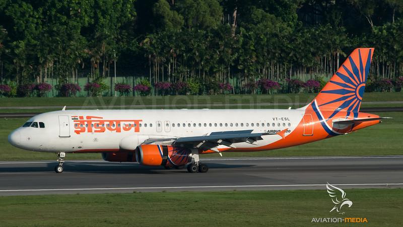 Indian Airbus A320 VT-ESL