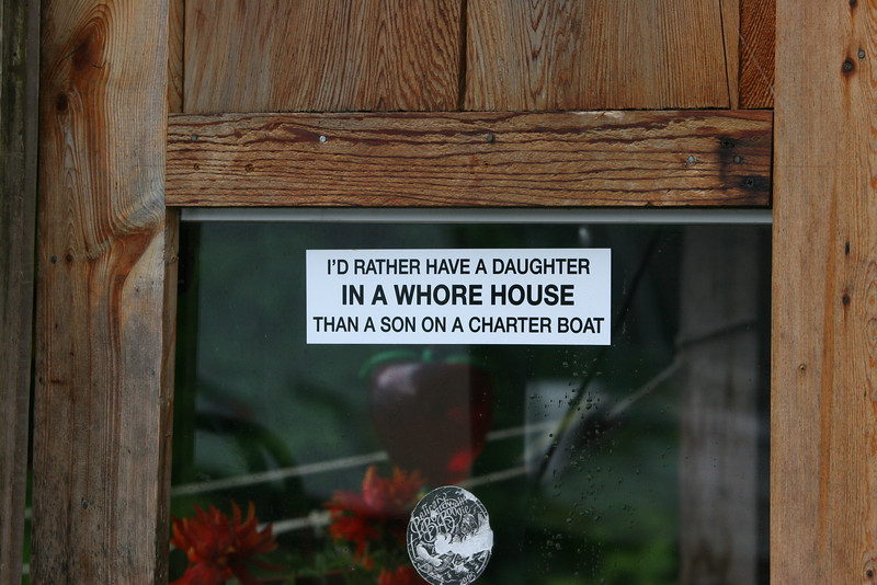 house sign in Pelican
