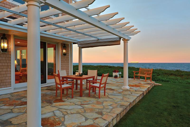 635 - 376193 - Narragansett RI - Ocean View Pergola
