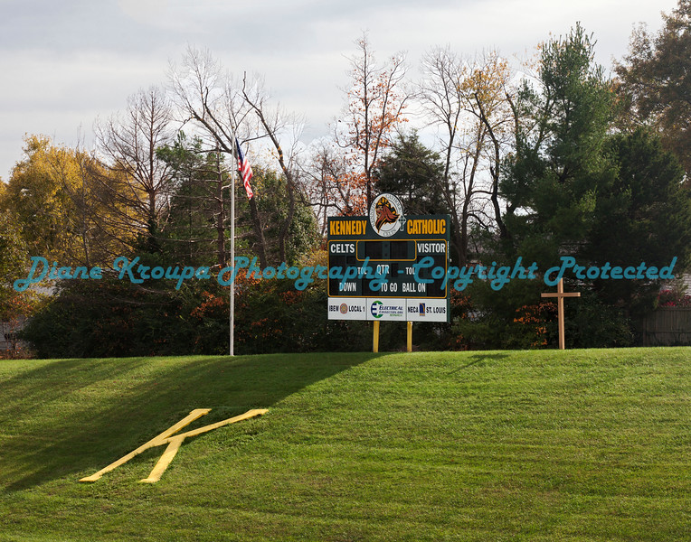 Kennedy High School -  Field and Scoreboard  Photo# 1966