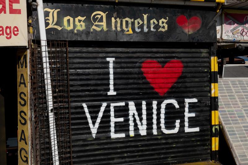 A local shop loves Venice.