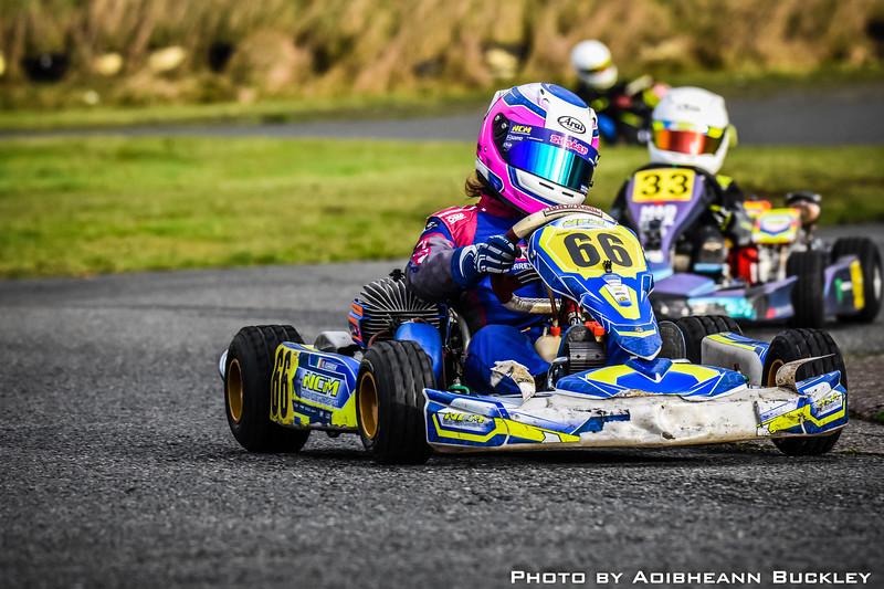 Leinster Karting Club - 2018/19 Winter Championship - Round 2 - Aoibheann Buckley