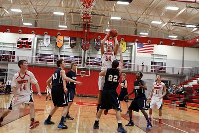 Boys Varsity Basketball - 2/3/2014 Fruitport (Parent's Night)