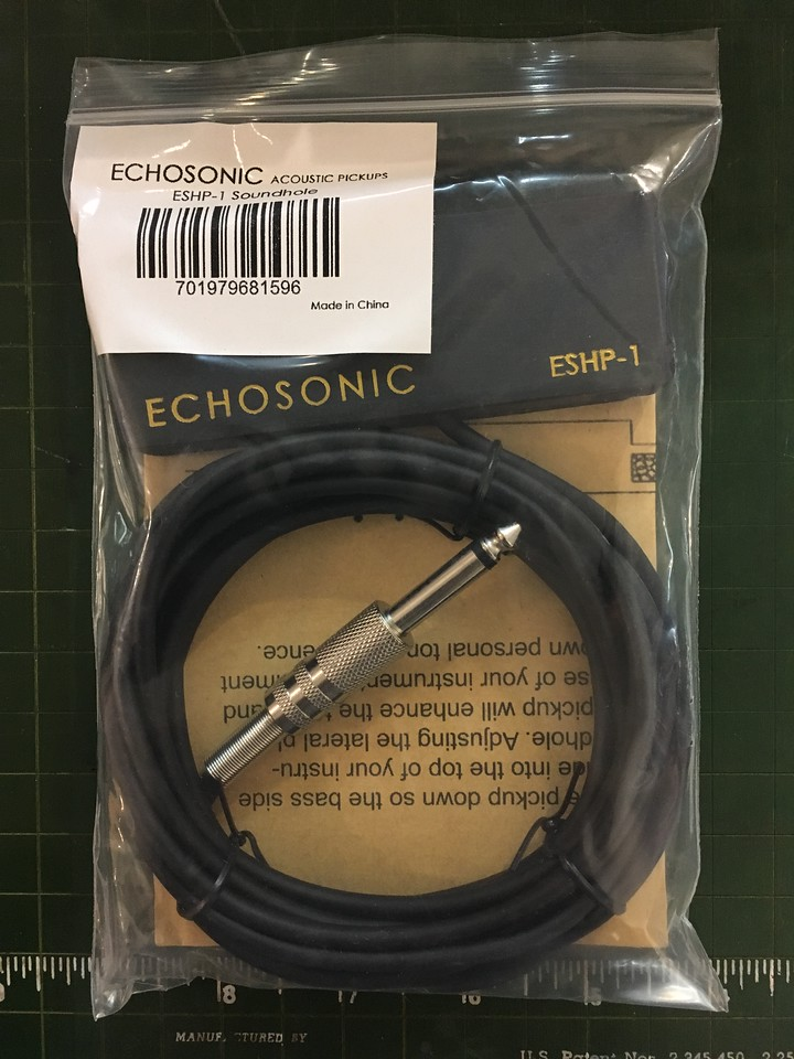 Echosonic Acoustic Guitar Pickup