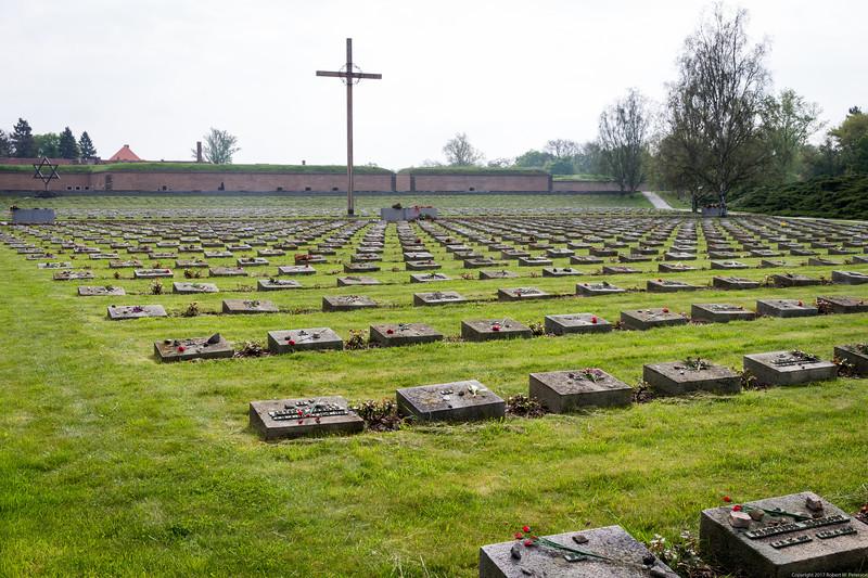 Terezin Memorial Graveyard