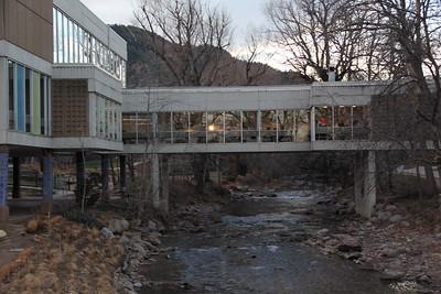 Boulder Creek & Winter Sunset @ Boulder High School 2017-12-08